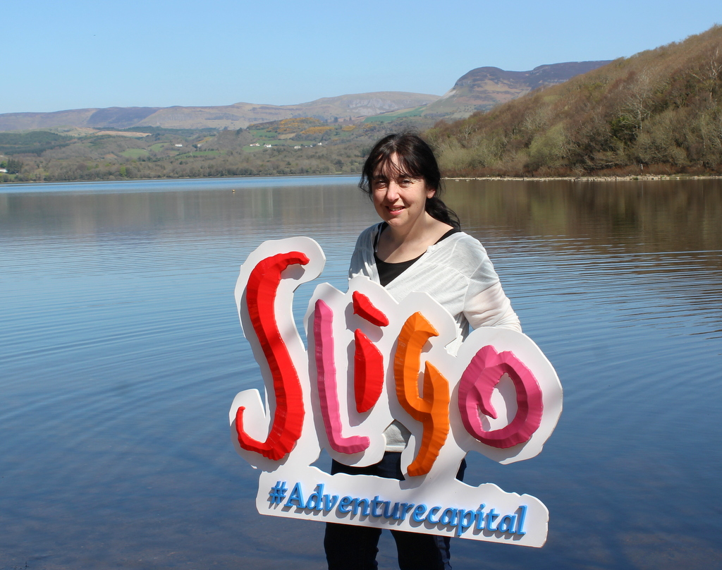 Me holding up Sligo - image credit David O'Hara