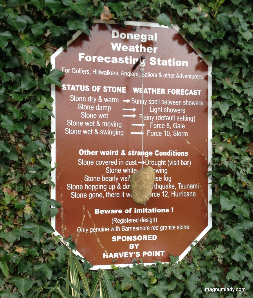 Donegal Weather Forecasting Stone