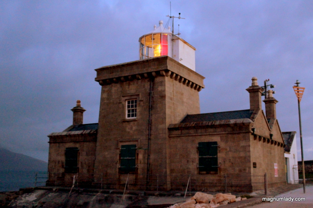 Blacksod Lighthouse at night