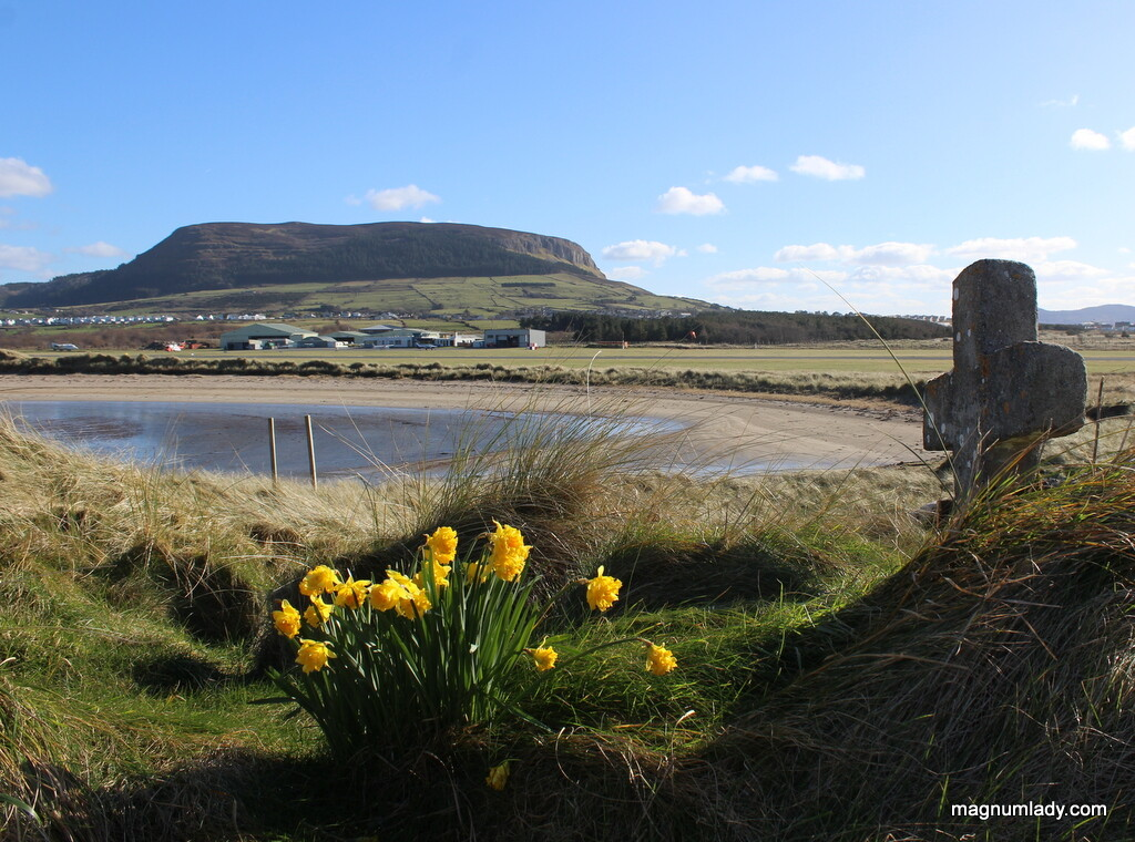 Knocknarea Mountain from Killaspugbrone