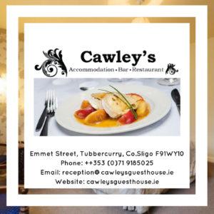 Cawley's Guesthouse Tubbercurry Sligo