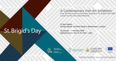 St. Brigid's Day – a contemporary art exhibition